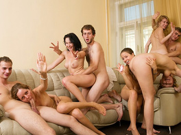 Student Party With Wild Bisexual Girls
